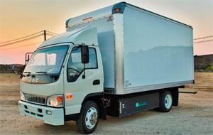 Greenkraft-Truck