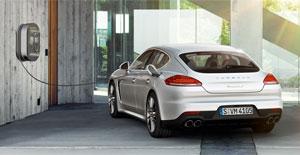 Porsche-Panamera-Hybrid-Charging