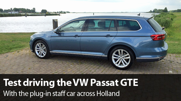 Vw Passat Gte The King Among Company Cars Electrified Electrive