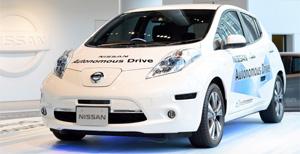 Autonomous-Nissan-Leaf
