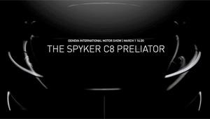 Spyker-C8-Teaser