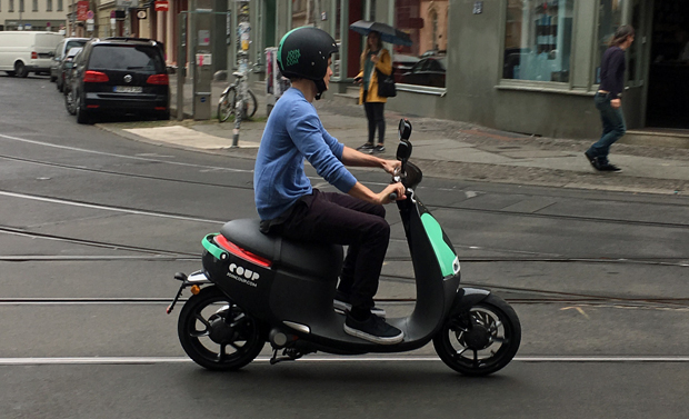 coup bosch s first scooter sharing conquers berlin