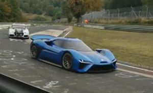 Vw archive electrive first glimpse of nextev nextevs electric sports car was spotted in the nordschleife of nrburgring where it appeared for a promo video allegedly fandeluxe Gallery