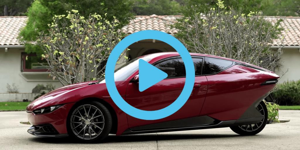 Sondors Electric Car Concept 2017 Video