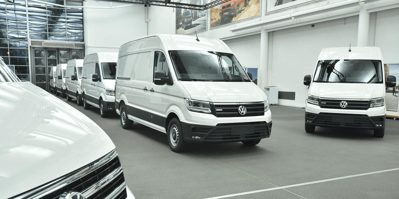 Volkswagen E Crafter Transporter 01