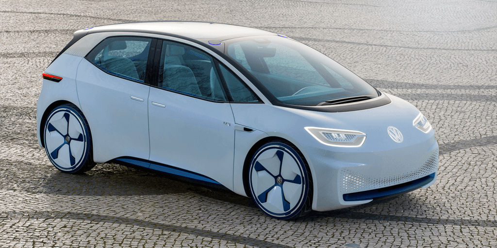 Volkswagen Id Meb Electric Car 02