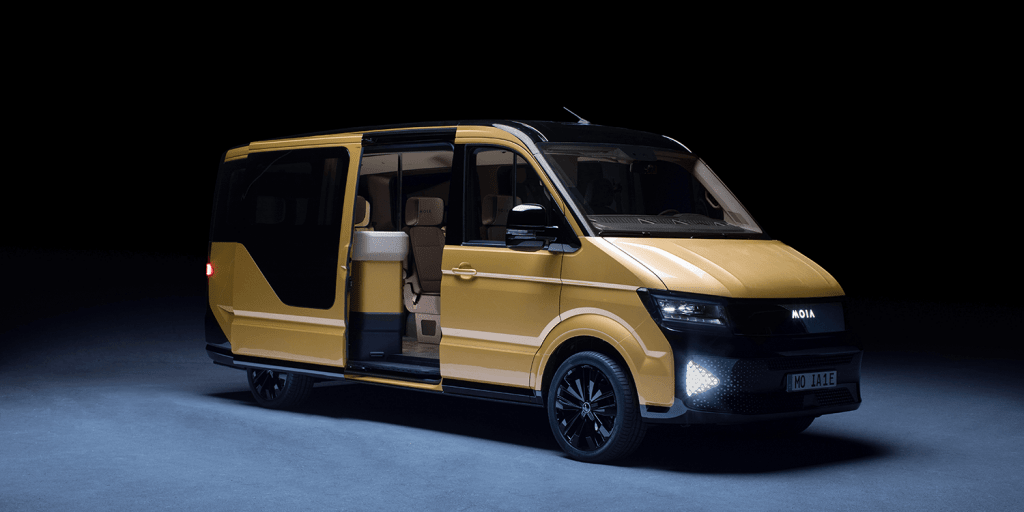 Moia Shows Ride Pooling Concept And Self Created Shuttle