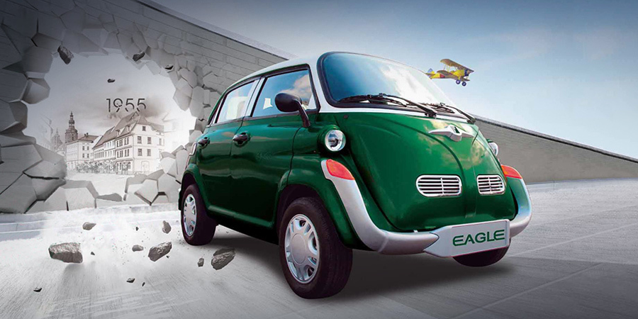 As Fuel Economy Is The Word Of Day China S Lsve Looked To Europe For Inspiration And Reinvented Bubble Car Formerly Built By Bmw Isetta