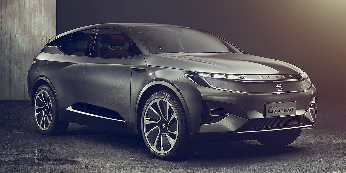 Future Mobility Takes Wraps Off Byton E Suv Electrive Com
