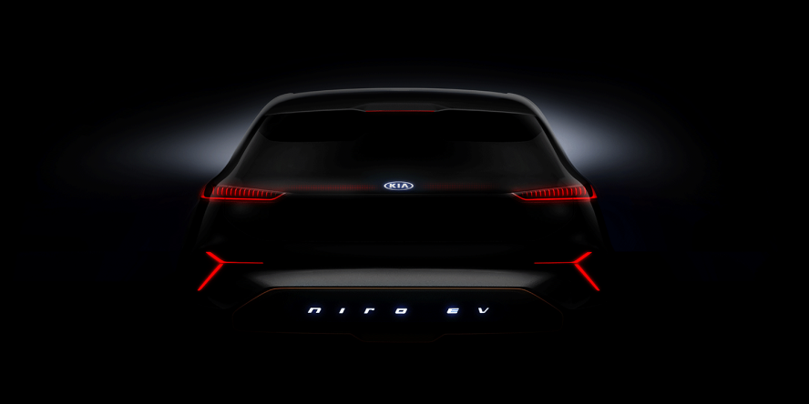 kia to show all electric niro ev at ces. Black Bedroom Furniture Sets. Home Design Ideas