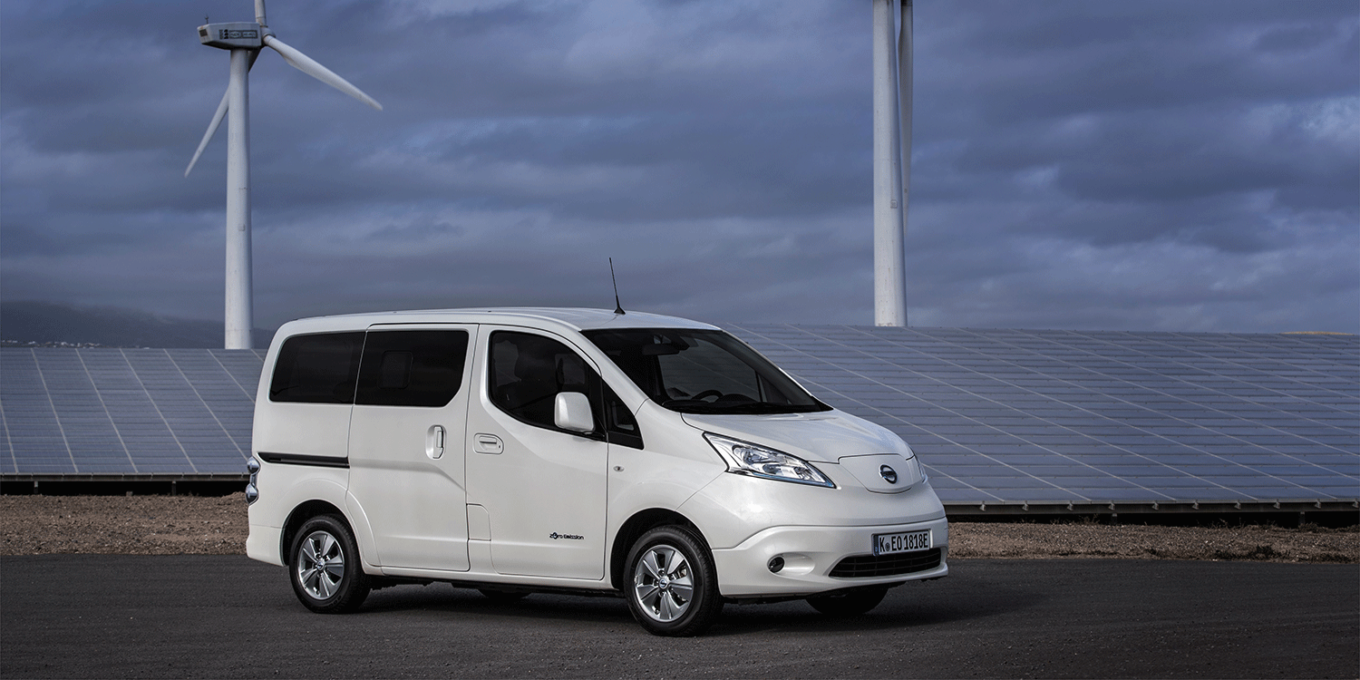 In Future Nissan Will Offer Its Nv200 Transporter Only With An Electric Drive According To The Manufacturer Production Of Sel Version End