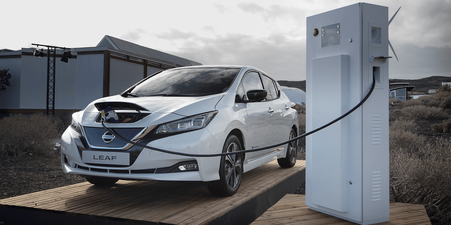 Image result for nissan leaf charging