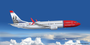 norwegian-aircraft-symbolic-picture