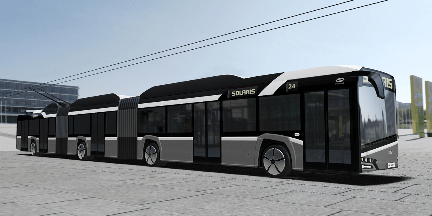 New Vw Van Electric >> Solaris works on bi-articulated 24m trolleybus - electrive.com