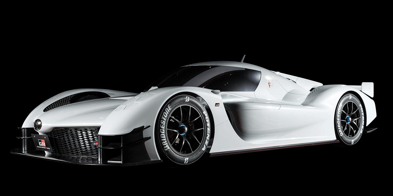 Toyota Gazoo Hybrid Car Gr Super Sport Concept