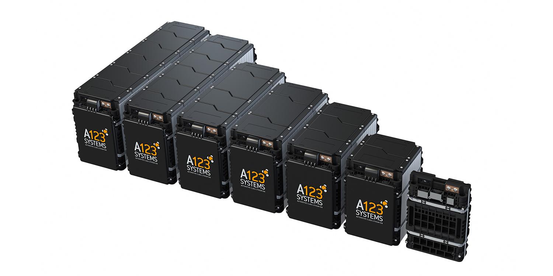 A123 Systems Batterie Battery Modul
