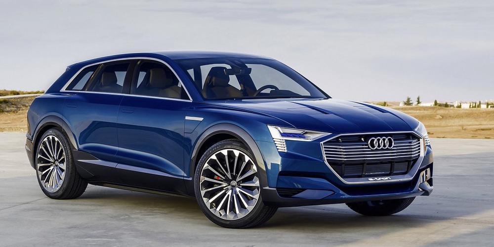 Audi Etron Quattro Concept