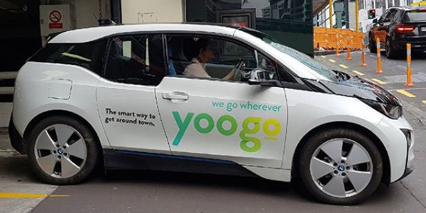 New Zealand Launches First Ev Ride Sharing Service Yoogo Electrive Com