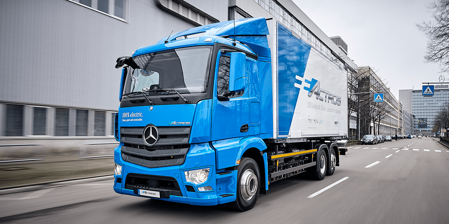 Daimler reveals electric truck eActros to press - electrive.com