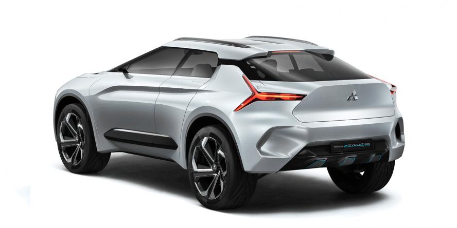 Mitsubishi Presents New Outlander PHEV And SUV Concept Electrivecom - Tokyo car show 2018