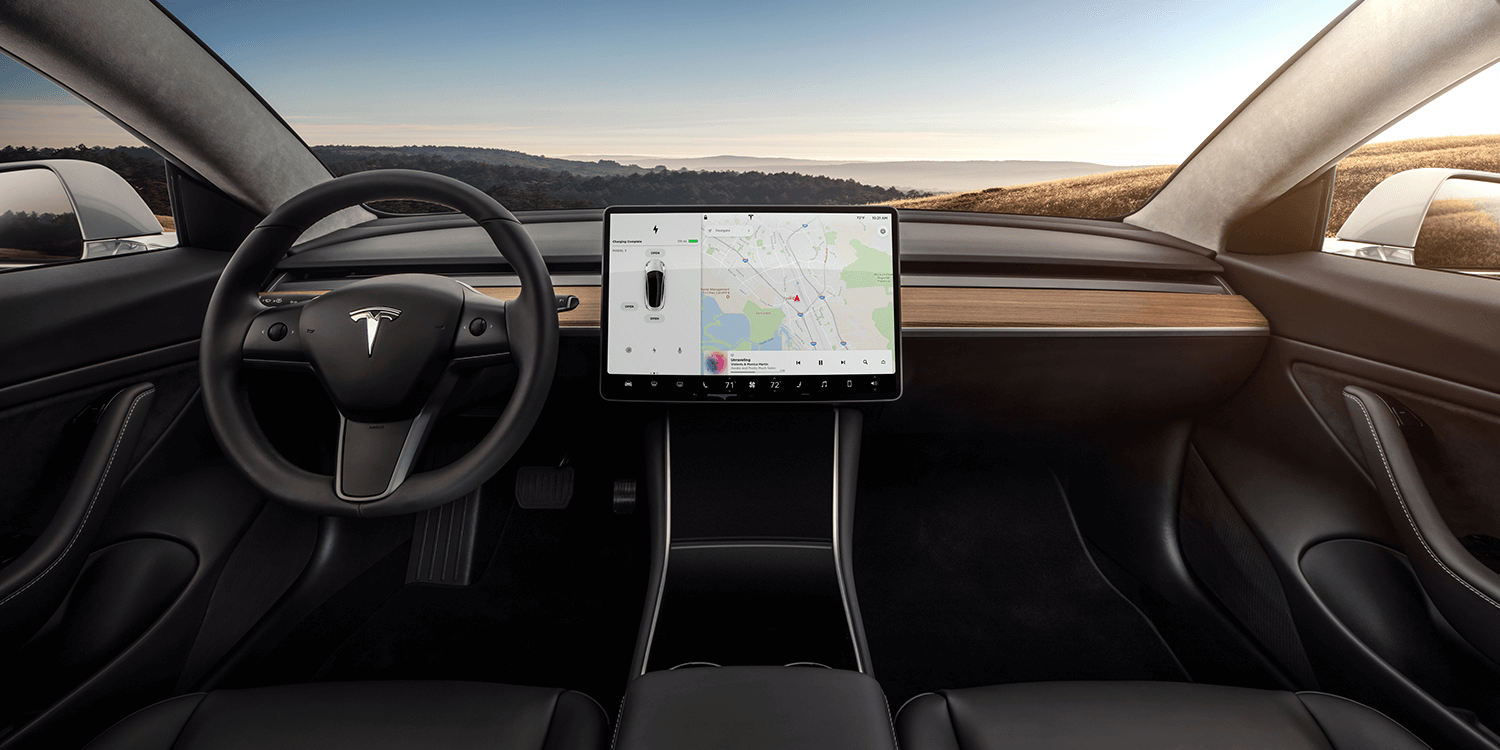 tesla model 3 interieur 3