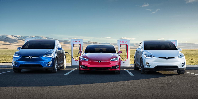 Tesla Model S X Supercharging
