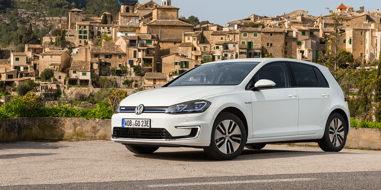 Volkswagen E Golf 2017 Elektroauto Electric Car
