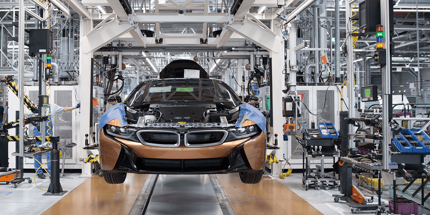 BMW start serial production of i8 Roadster