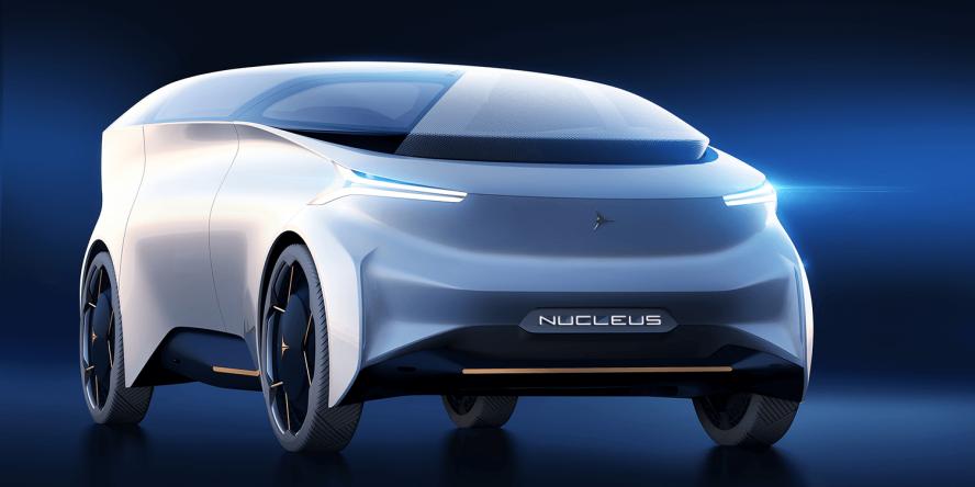 Italy S Icona Presents Autonomous Ev Nucleus With H2 Rex