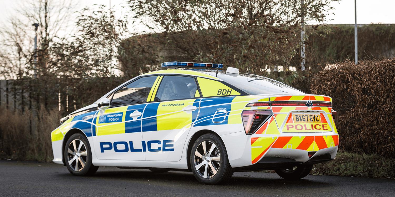 Scotland Yard Now Driving Toyota Mirai Fuel Cell Cars Electrive Com