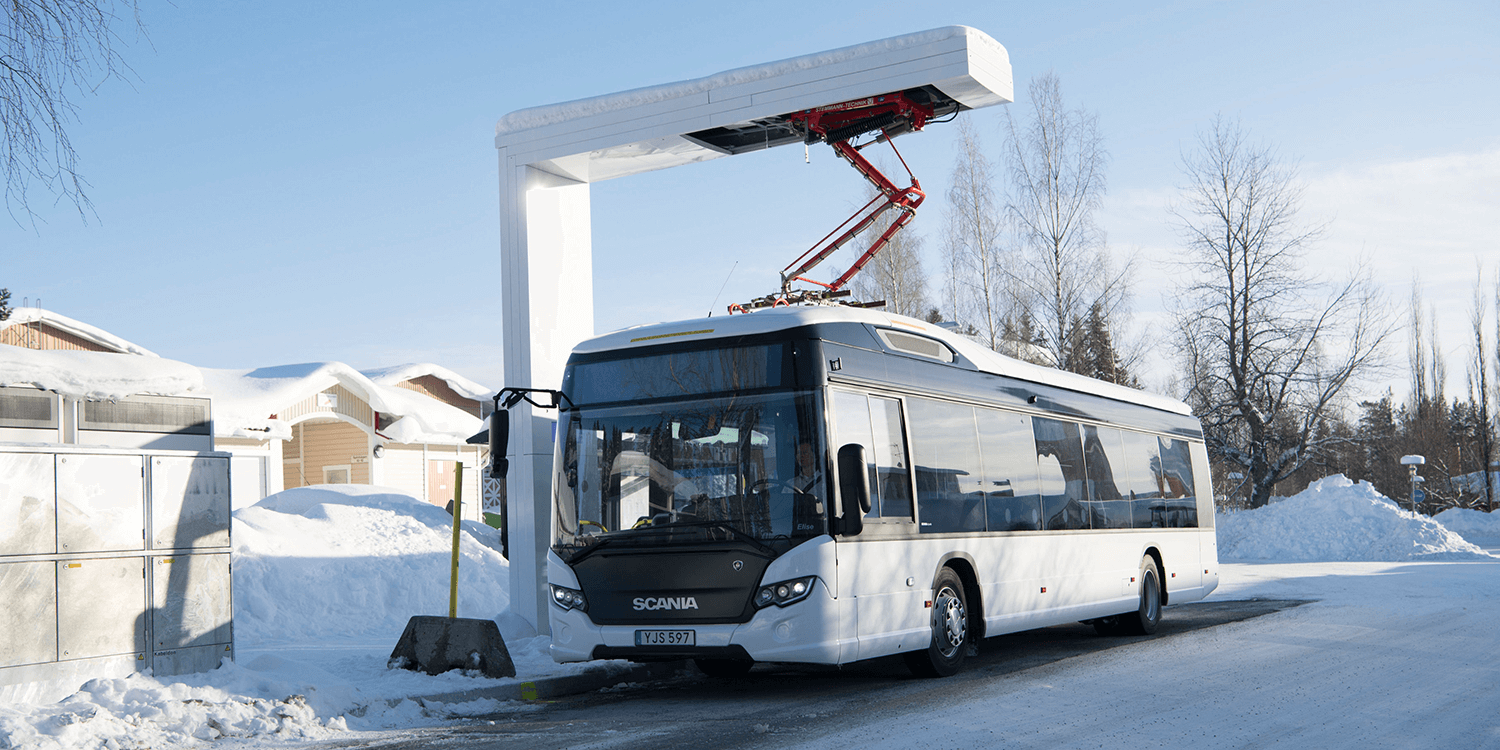 Scania's first electric bus to take up service in Sweden
