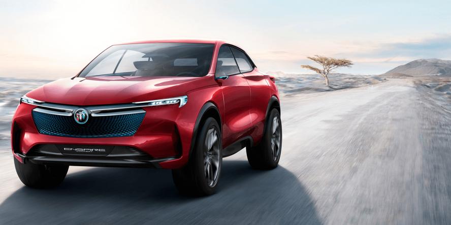 Buick Enspire E Suv Electric Car Elektroauto Concept
