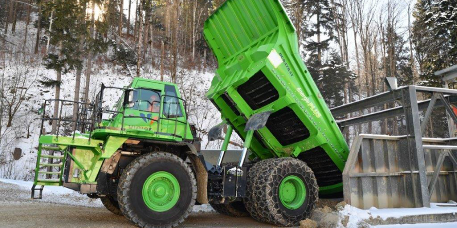 eMining's eDumper is the world's largest electric truck