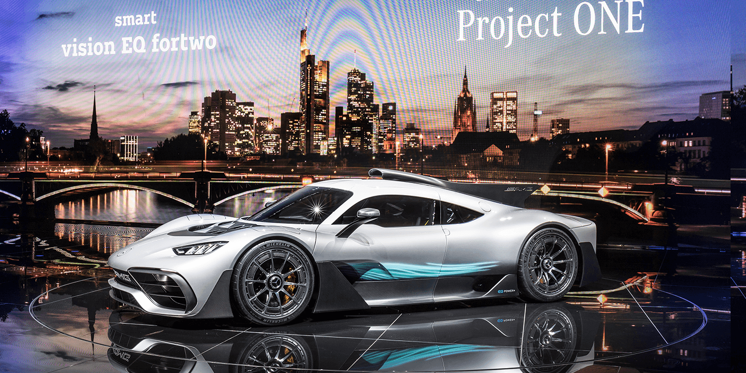 Mercedes Shows Off The Project One S Baby Steps Electrive Com