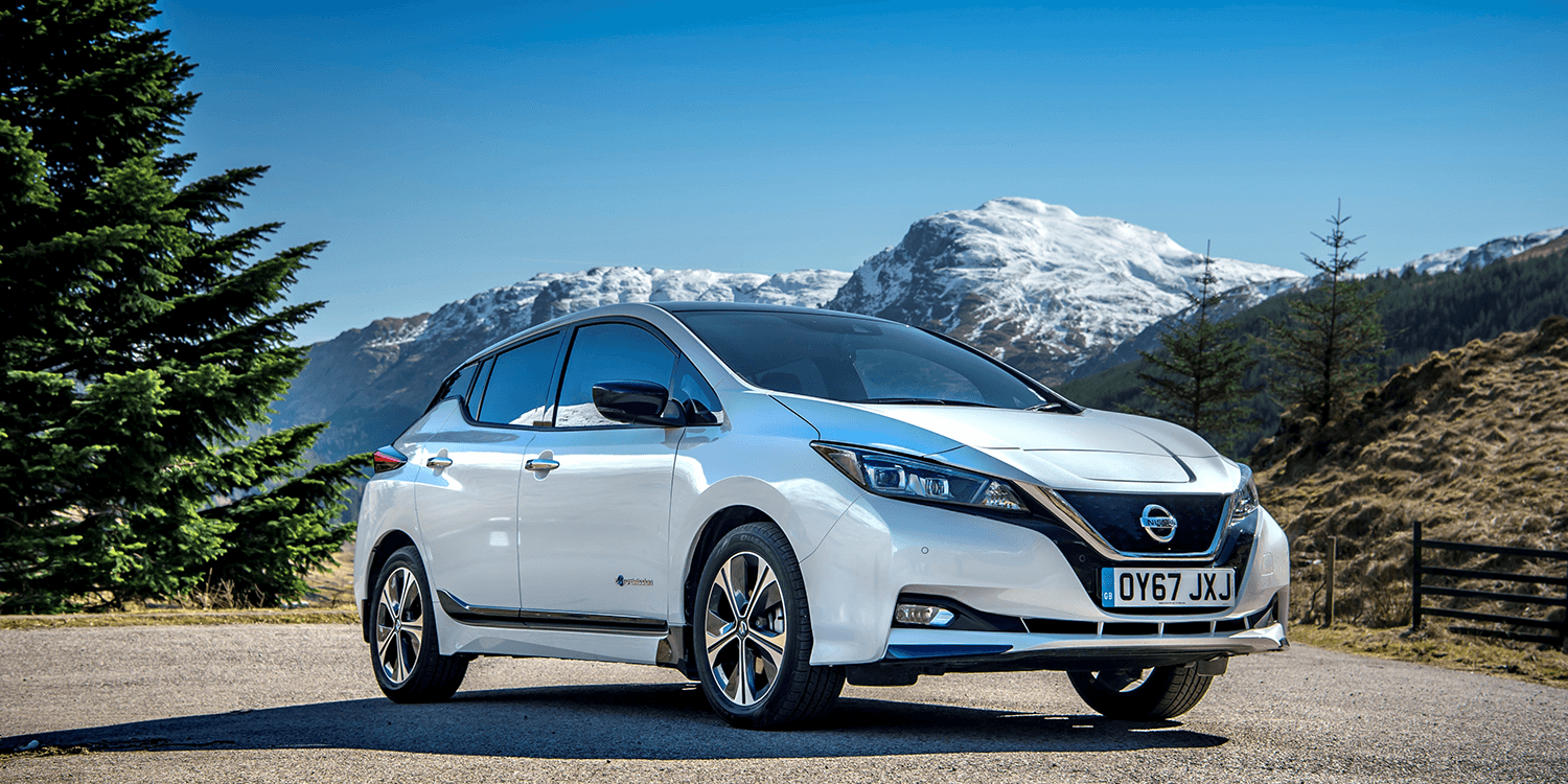 Nissan Leaf 2018 Electric Car Elektroauto 03