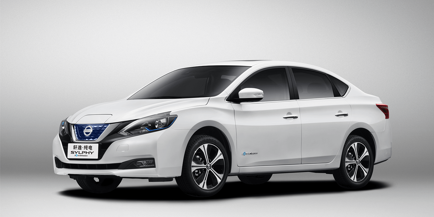 Nissan's first EV for China - Sylphy Zero Emission ...