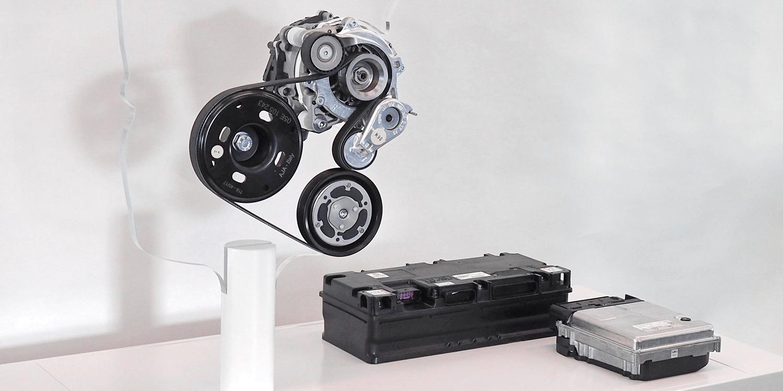 Volkswagen 48 Volt Riemen Startergenerator Batterie