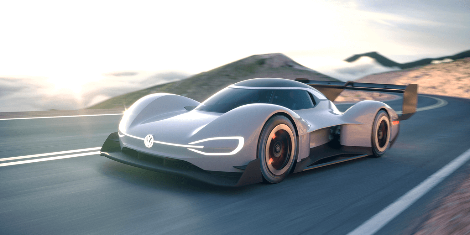 Vw Presents I D R Pikes Peak This Weekend Electrive Com