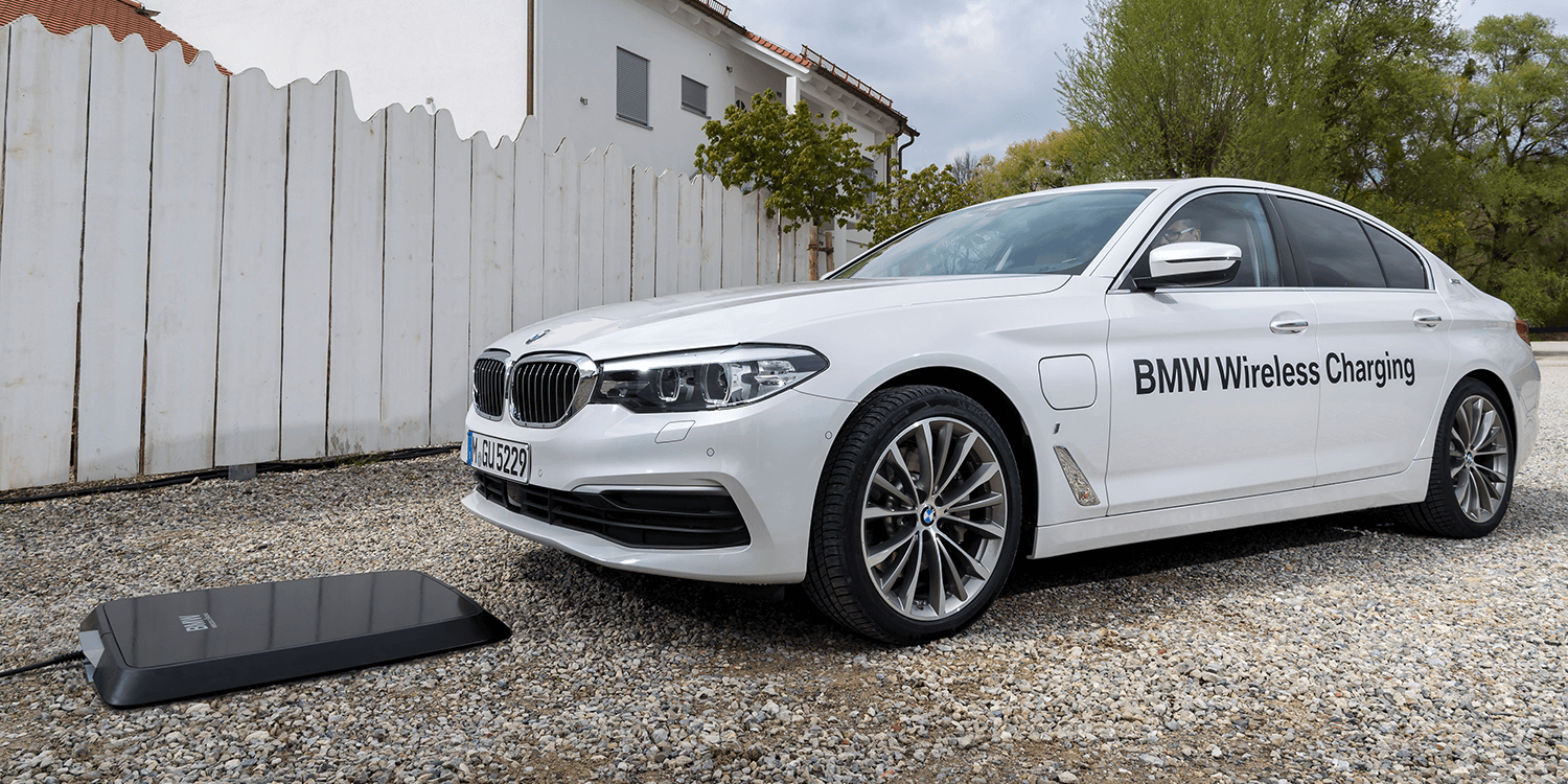 Bmw Offers Inductive Charging Solution Electrive Com