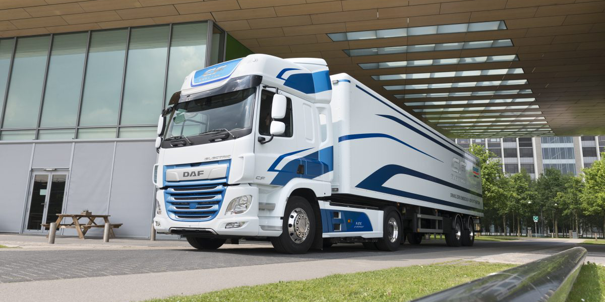 DAF and VDL team up for electric semi truck CF Electric - electrive.com
