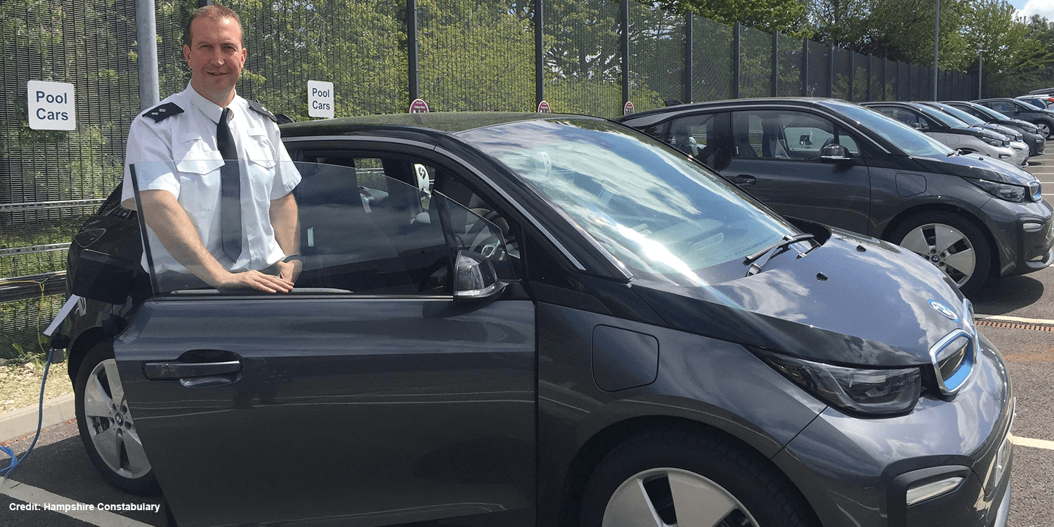 Hampshire Police To Drive An All Electric Fleet Of Bmw I3