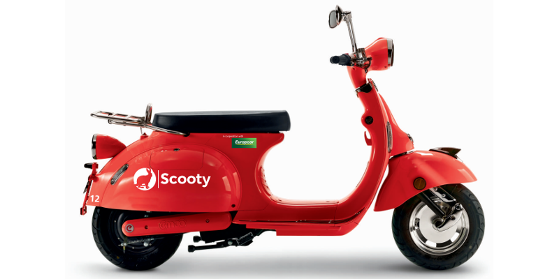 Scooters For Rent At Car Shows
