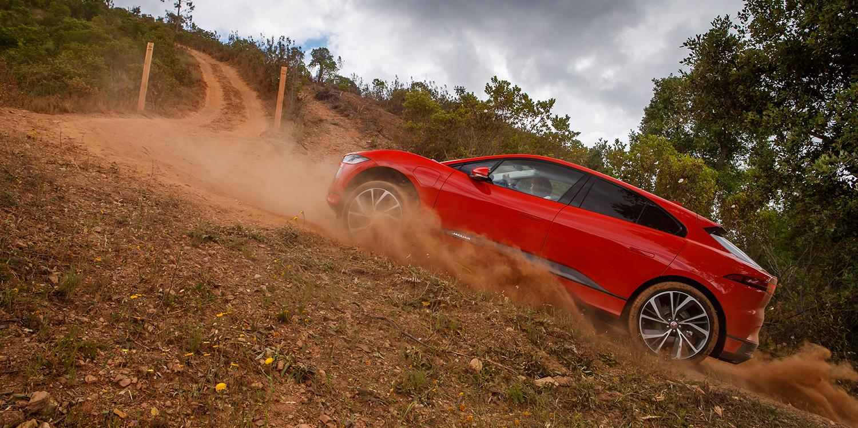 Electrive Jaguar I Pace Fahrevent Portugal 2018 Footage