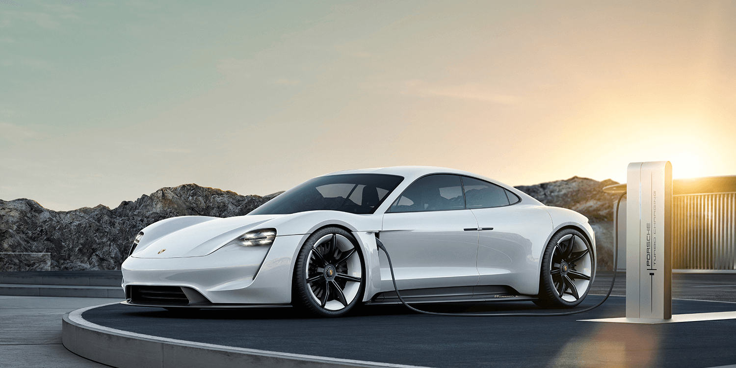 Porsche Taycan is the production name for the Mission E EV