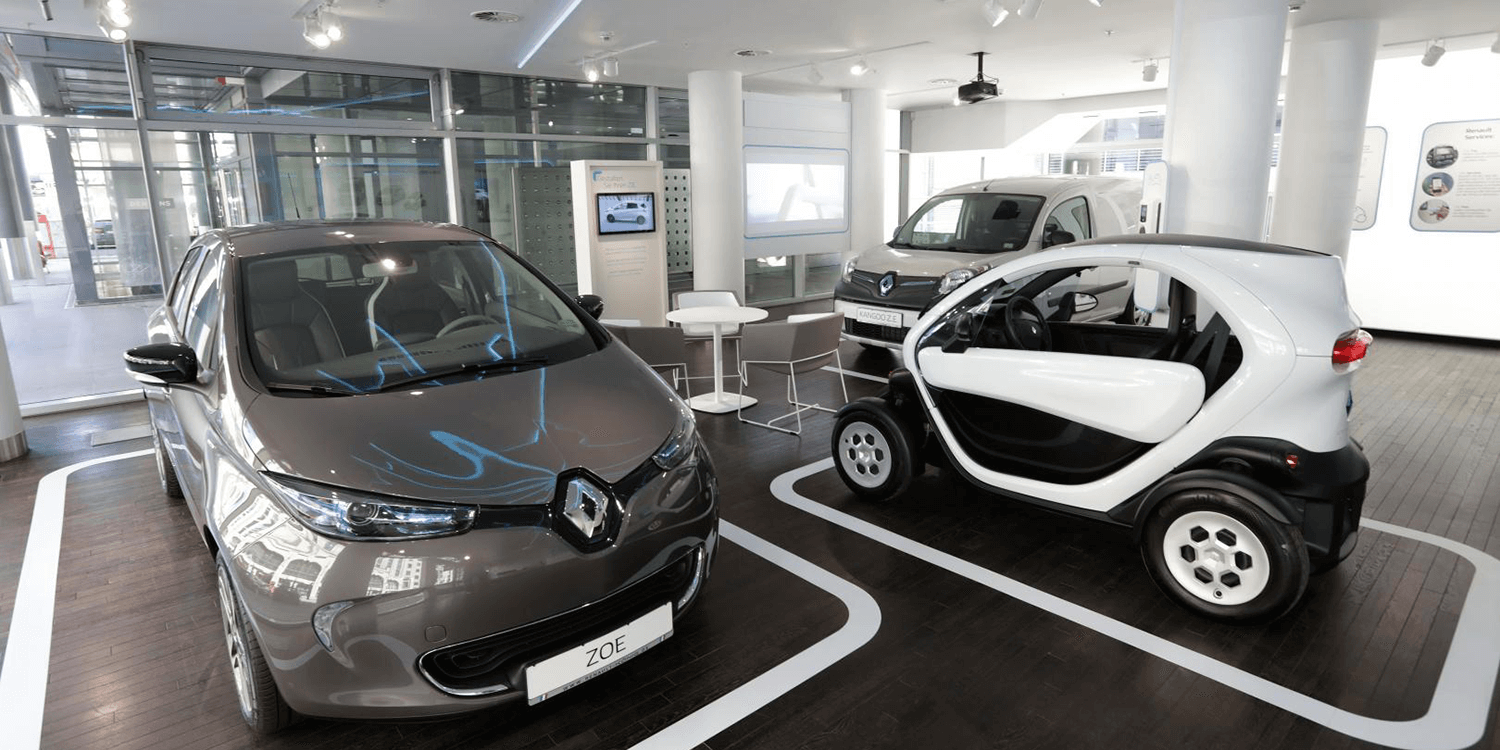 renault opens concept store in berlin. Black Bedroom Furniture Sets. Home Design Ideas