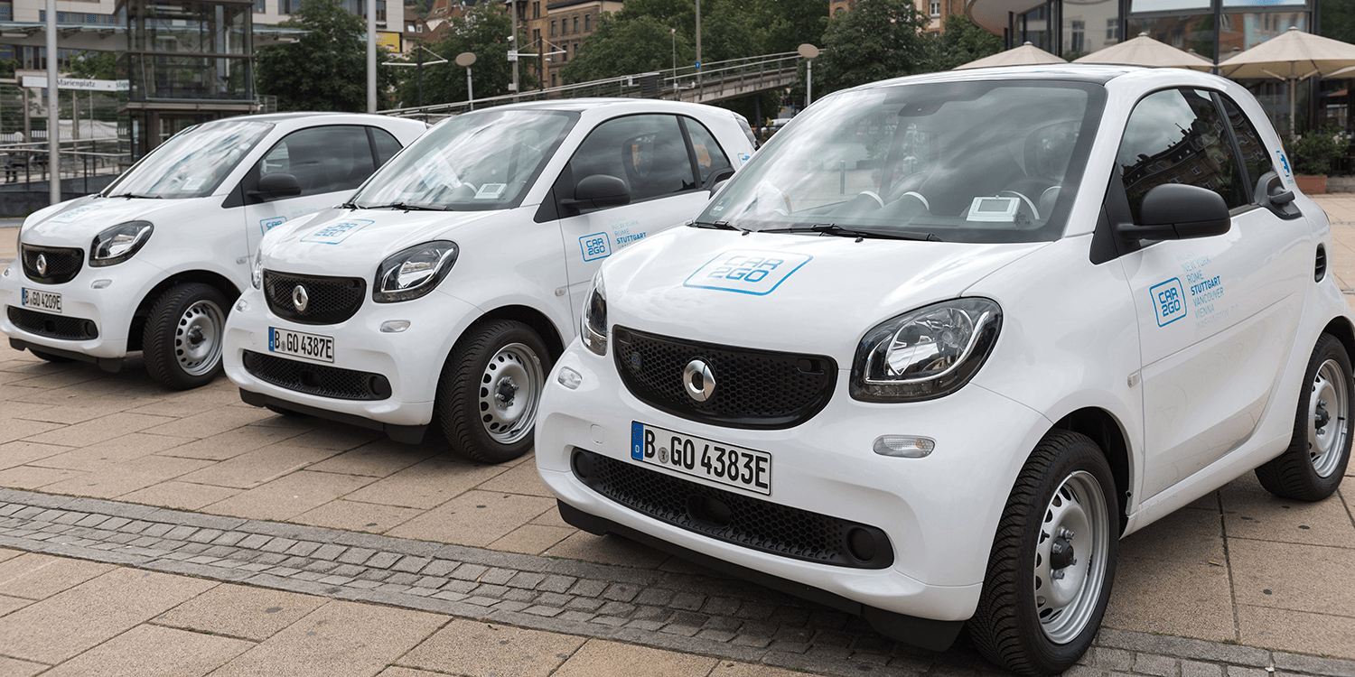 Smart Eq Fortwo Car2go Carsharing 2018 Min