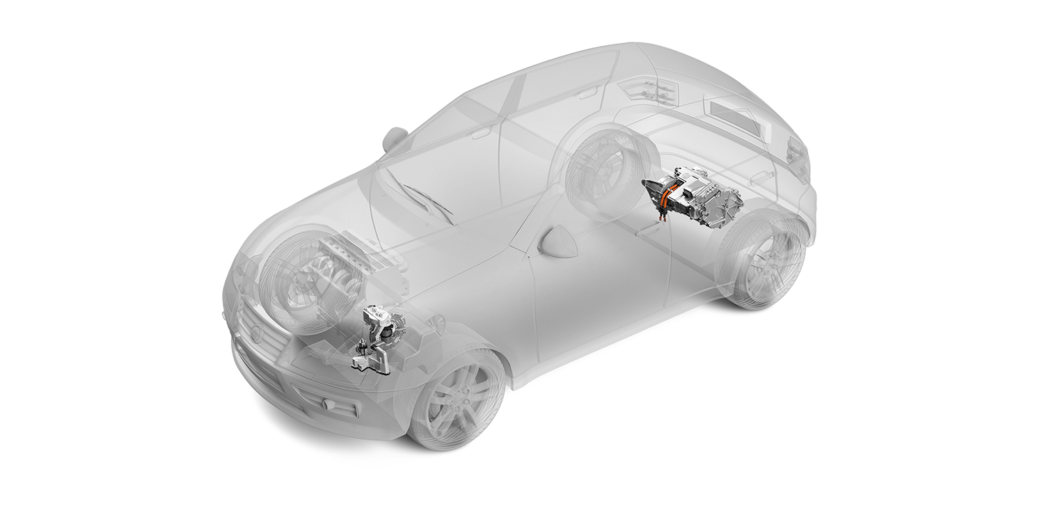 Zf Introduces Axle Hybrid Concept For Small Vehicles