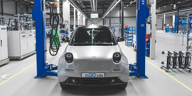 E Go Mobile Produktionsstart Production Start Aachen 05