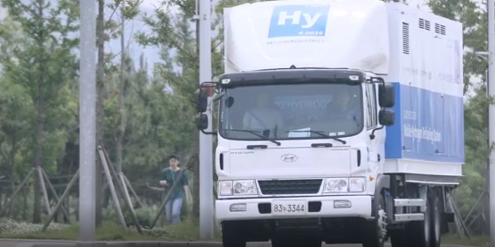 Mobile filling station for fcev using liquid hydrogen for Industrie mobel