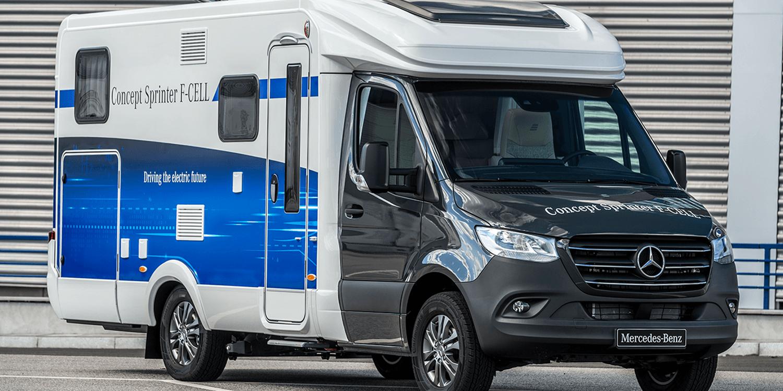 Mercedes Benz Vans Presents Fuel Cell Sprinter Concept Electrive Com